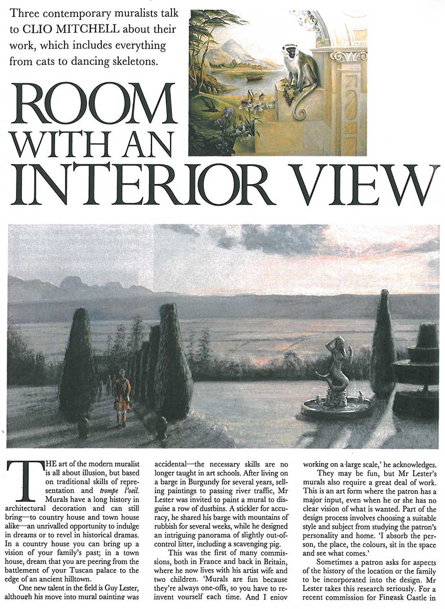 Room with an interior view page 1