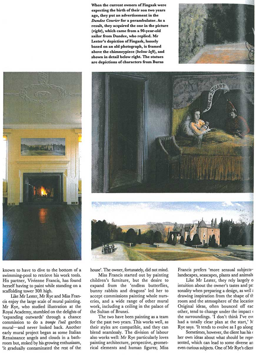 Room with an interior view page 3