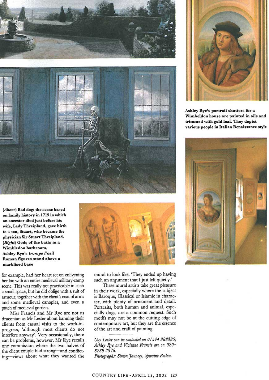 Room with an interior view page 4