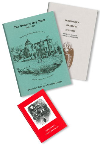Books available at Fingask Castle