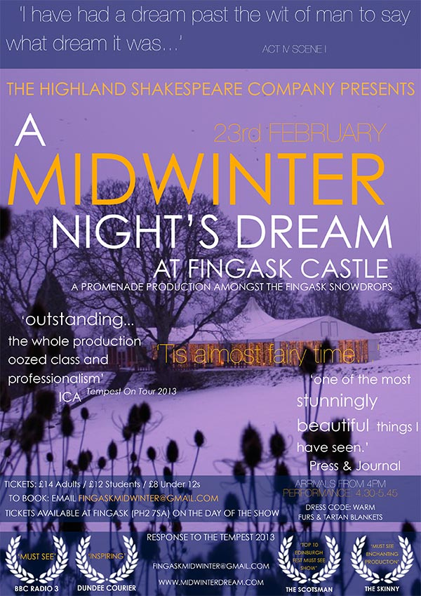 Mid winter night's dream