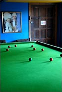 Snooker at Fingask Castle